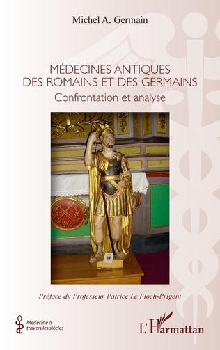 Couverture Médecines antiques des romains et germains