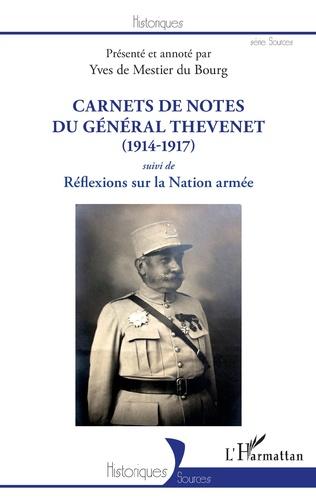 Couverture Carnets de notes du Général Thevenet
