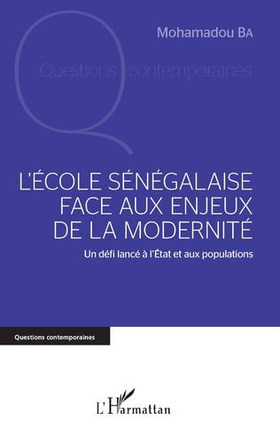 Couverture L'école sénégalaise face aux enjeux de la modernité