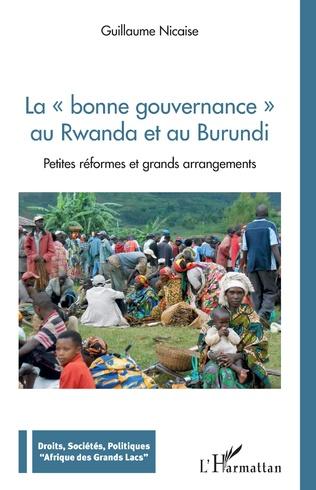 Couverture La bonne gouvernance au Rwanda et au Burundi