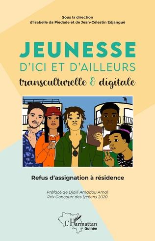 Couverture Jeunesse d'ici et d'ailleurs transculturelle & digitale