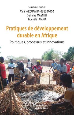 Couverture Pratiques de développement durable en Afrique