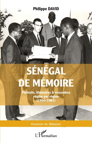 Couverture Sénégal de mémoire