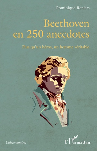 Couverture Beethoven en 250 anecdotes