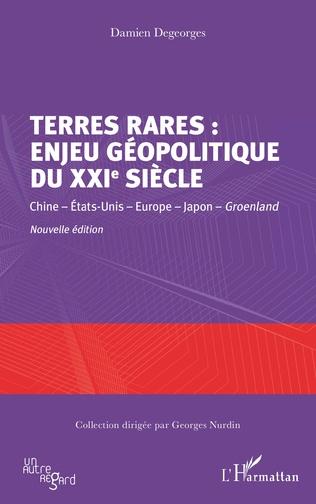 Couverture Terres rares : enjeu géopolitique du XXIe siècle