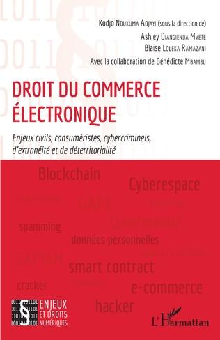 Couverture Droit du commerce électronique