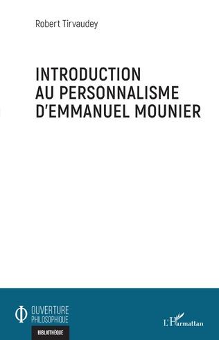 Couverture Introduction au personnalisme d'Emmanuel Mounier
