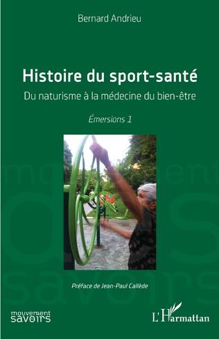 Couverture Histoire du sport-santé