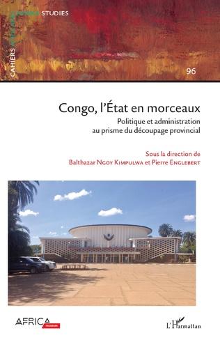 Couverture Congo, l'État en morceaux