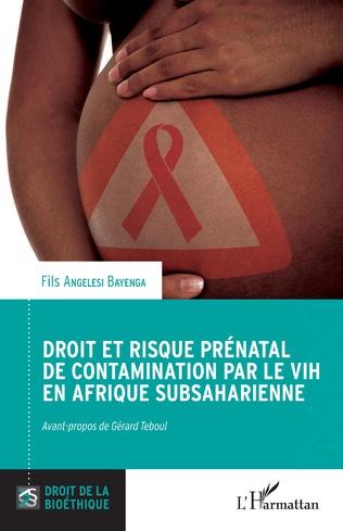 Couverture Droit et risque prénatal de contamination par le VIH en Afrique subsaharienne