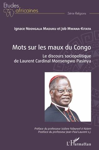 Couverture Mots sur les maux du Congo