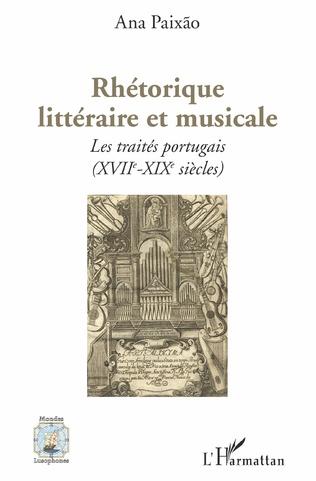 Couverture Rhétorique littéraire et musicale
