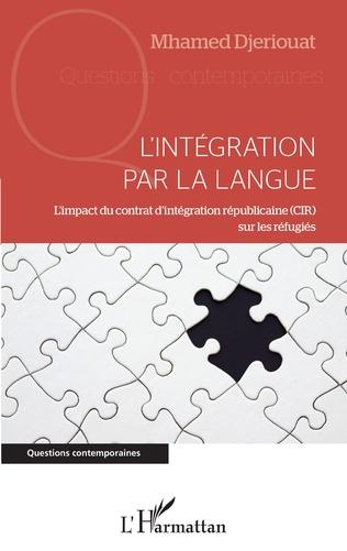 Couverture L'intégration par la langue