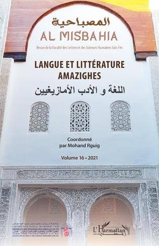 Couverture Langue et littérature amazighes