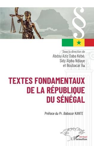 Couverture Textes fondamentaux de la République du Sénégal