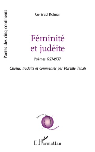 Couverture Féminité et judéite
