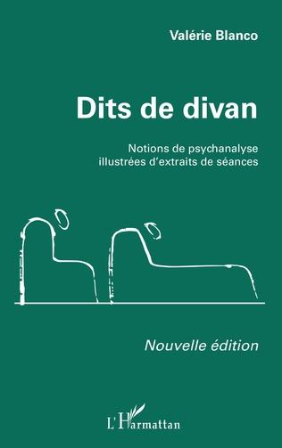 Couverture Dits de divan (Nouvelle édition)