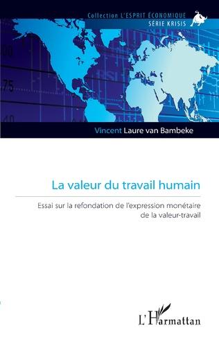 Couverture La valeur du travail humain