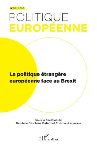 Couverture La politique étrangère européenne face au Brexit