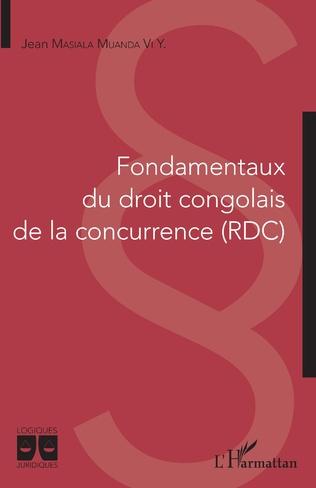 Couverture Fondamentaux du droit congolais de la concurrence (RDC)