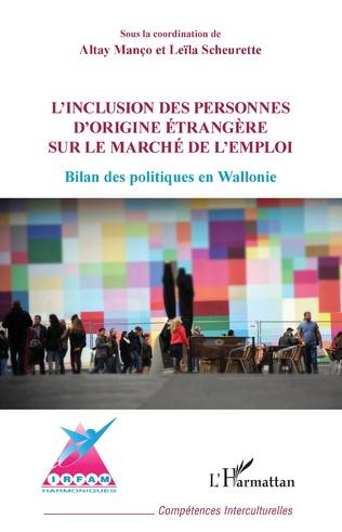 Couverture Inclusion des personnes d'origine étrangère sur le marché de l'emploi