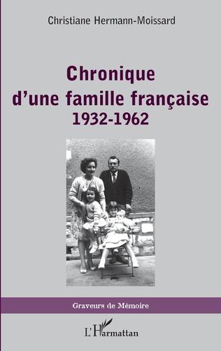 Couverture Chronique d'une famille française