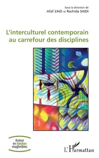 Couverture L'Interculturel contemporain au carrefour des disciplines