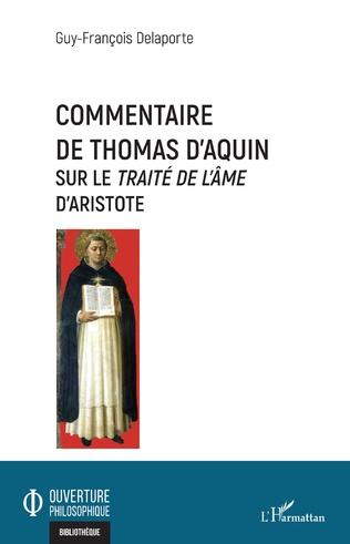 Couverture Commentaire de Thomas d'Aquin