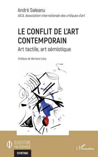 Couverture Le conflit de l'art contemporain