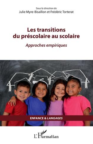 Couverture Les transitions du préscolaire au scolaire