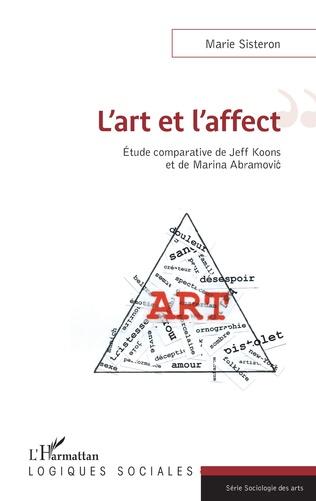 Couverture L'art et l'affect