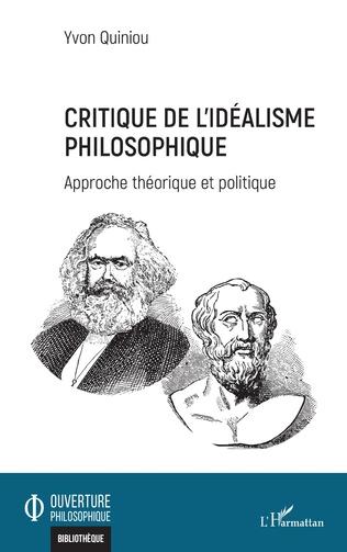 Couverture Critique de l'idéalisme philosophique
