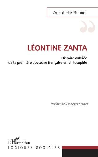 Couverture Léontine Zanta