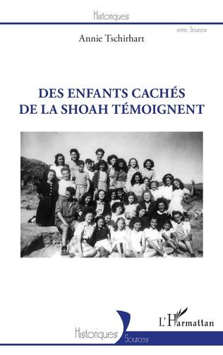 Couverture Des enfants cachés de la Shoah témoignent