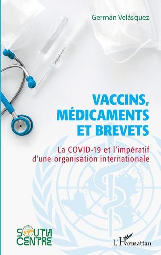 Couverture Vaccins, médicaments et brevets