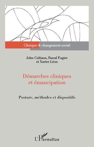 Couverture Démarches cliniques et émancipation