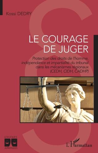 Couverture Le courage de juger