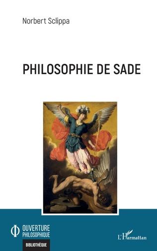 Couverture Philosophie de Sade