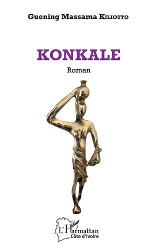 Couverture KONKALE. Roman
