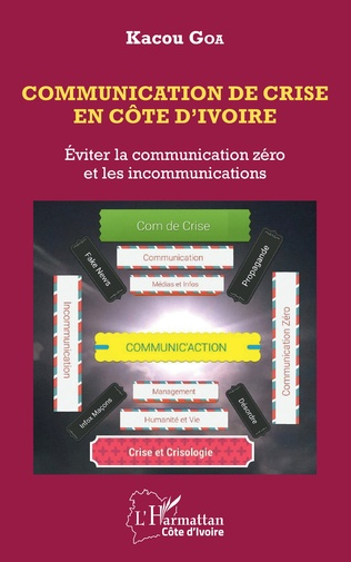 Couverture Communication de crise en Côte d'Ivoire