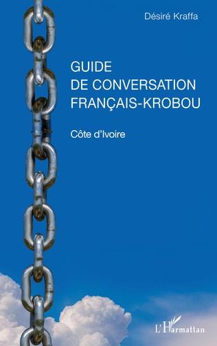 Couverture Guide de conversation français-krobou. Côte d'Ivoire