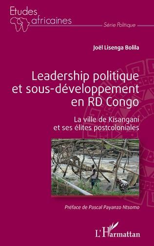 Couverture Leadership politique et sous-développement en RD Congo