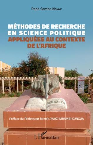 Couverture Méthodes de recherche en science politique