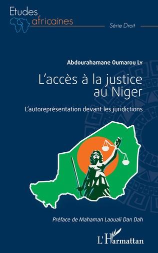 Couverture L'accès à la justice au Niger
