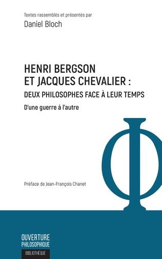 Couverture Henri Bergson et Jacques Chevalier
