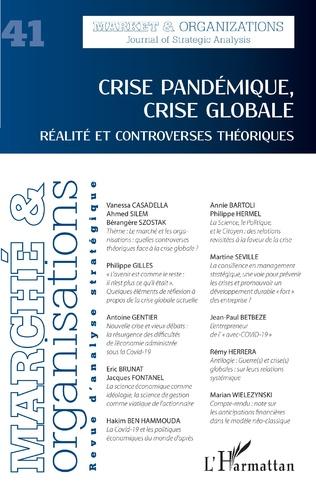 Couverture Crise pandémique, crise globale