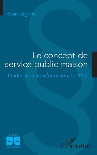 Couverture Le concept de service public maison