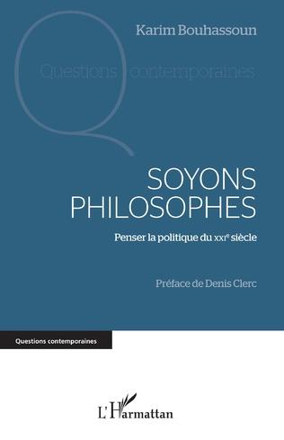 Couverture Soyons philosophes