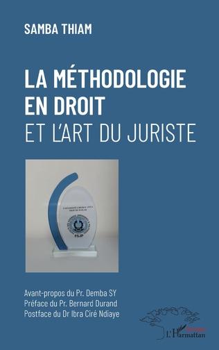 Couverture La méthodologie en droit et l'art du juriste