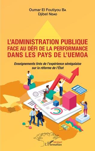 Couverture L'administration publique face au défi de la performance dans les pays de l'UEMOA